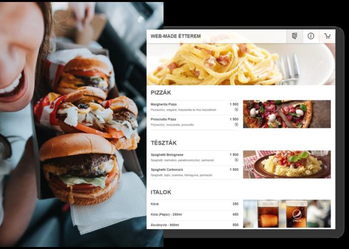 Web-Kukta – Éttermi Rendelésfeldolgozó Rendszer